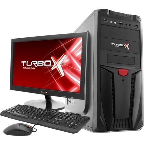 """Turbox Trbx608 İntel Core İ5-650 3,20 Ghz 4 Gb 500 Gb 18.5"""" Monitörlü Masaüstü Bilgisayar"""