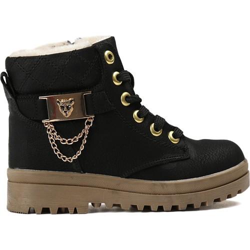 Kinetix Siyah Çocuk Günlük Ayakkabı 1319386 35