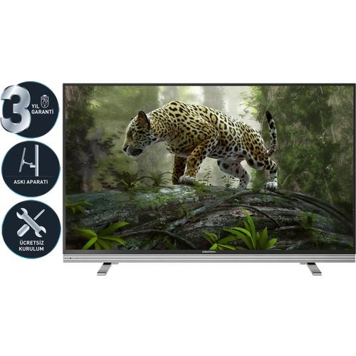 """GRUNDIG 48VLX8586 BP 48""""121 Ekran [4K] 2x Uydu Alıcılı 1000 Hz. 3D Smart LED TV"""