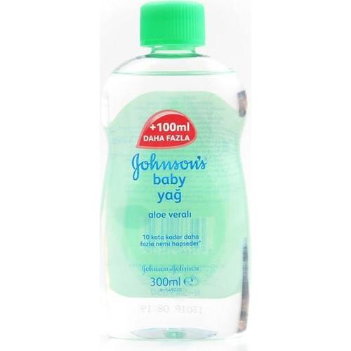 Johnson's Baby 300 Ml Aloe Veralı Nemlendirici Bebek Yağı