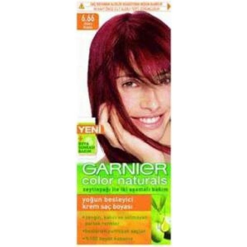 Garnier Color Naturals 6/66 - Alev Kızılı Saç Boyası