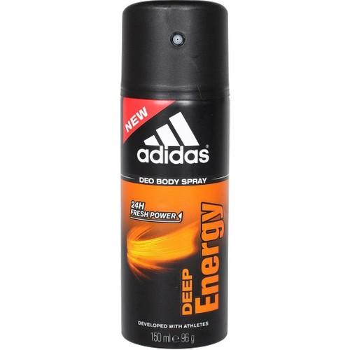 Adidas Deep Energy Deo Spray 150 Ml - Erkek Deodorant