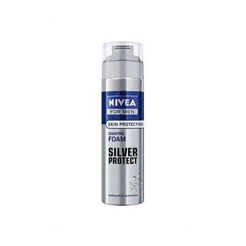 Nivea Tıraş Köpüğü Silver Protect 200Ml