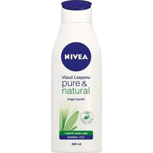 Nivea Body Pure Natural Lotion 400Ml