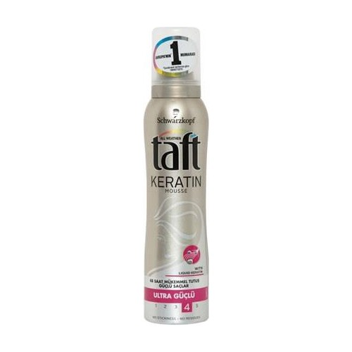 Taft 48 Saat Mükemmel Tutuş 150Ml Extra Güçlü 3 Saç Köpüğü