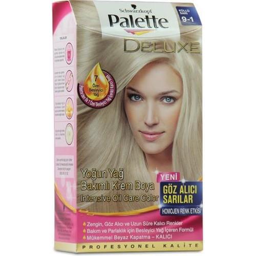 Palette 9/1 - Küllü Sarı Saç Boyası
