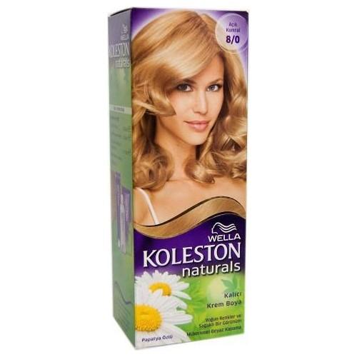 Koleston Naturals Saç Boyası 8/0 Açık Kumral