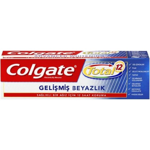 Colgate Diş Macunu Total Profesyonel Beyazlık 50 Ml