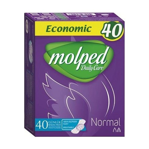 Molped Günlük Ped Normal 40'Lı