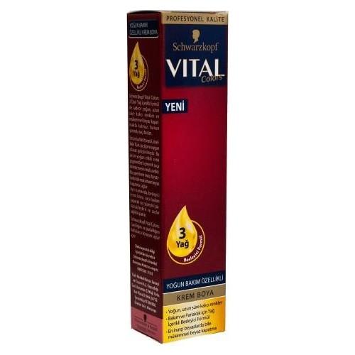Vital Colors Tüp Boya 7-65 Koyu Findik Kabuğu 60 Gr