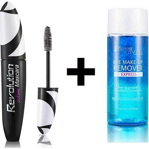 Flormar Revolutıon Volume Mascara Makyaj Temizleme Hediye