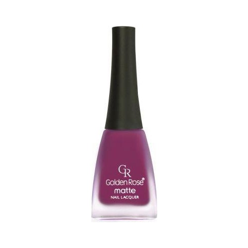 Golden Rose Matte Nail Lacquer No.01
