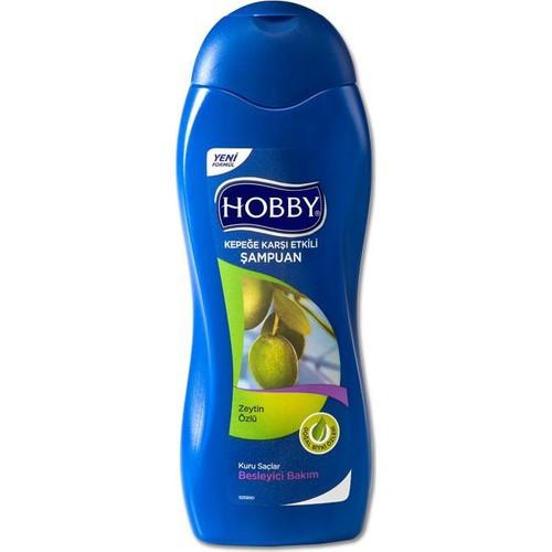 Hobby Şampuan Zeytinyağlı-Kepek 600 Ml