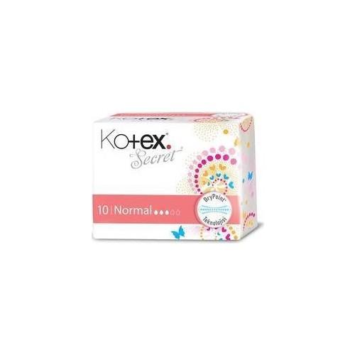 Kotex Secret Ultra Hijyenik Ped Normal (10 Adet)