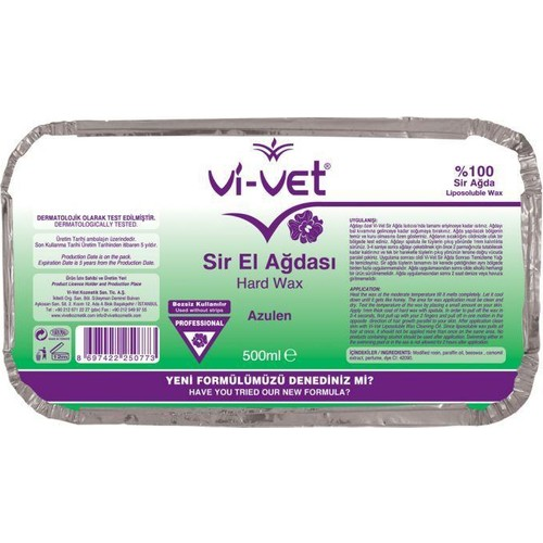 Vivet Sir Ağda Azulen Kalıp Ağda 500 Ml