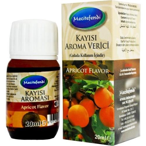 Mecitefendi Katkısız Kayısı Yağı Aroma Verici 20 Cc