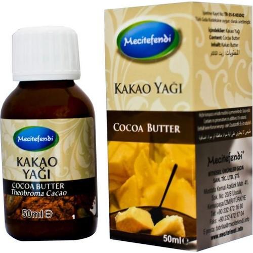Mecitefendi Katkısız Kakao Yağı 50 Cc