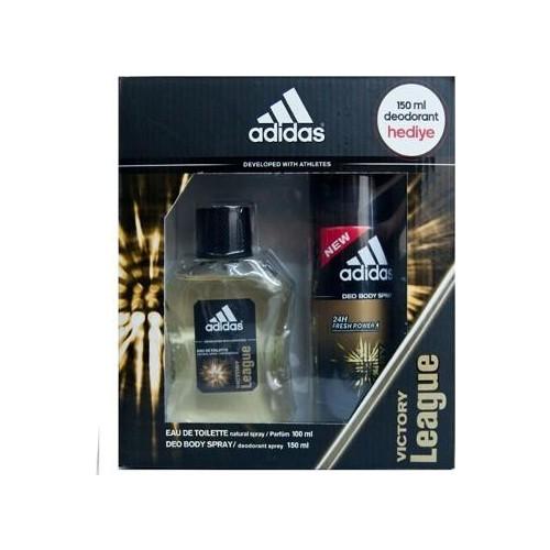 Adidas Parfüm Erkek Victory Edt 100 Ml+ 150 Ml Deodorant