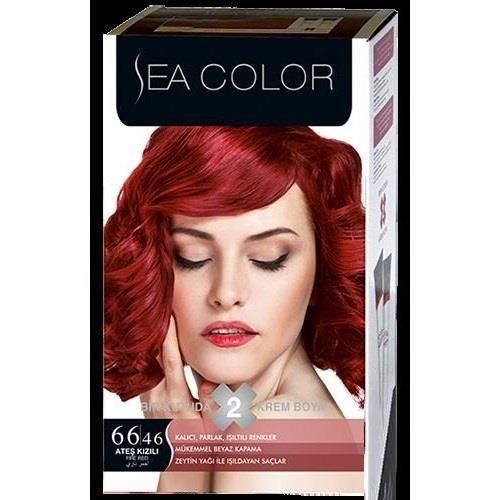 Sea Color 66/46 - Ateş Kızılı Saç Boyası
