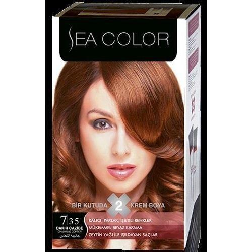 Sea Color 7/35 - Bakır Cazibe Saç Boyası