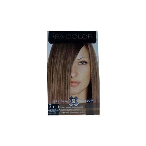 Sea Color 7/1 - Küllü Kumral Saç Boyası
