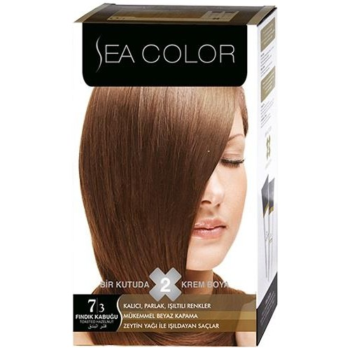 Sea Color 7/3 - Fındık Kabuğu Saç Boyası