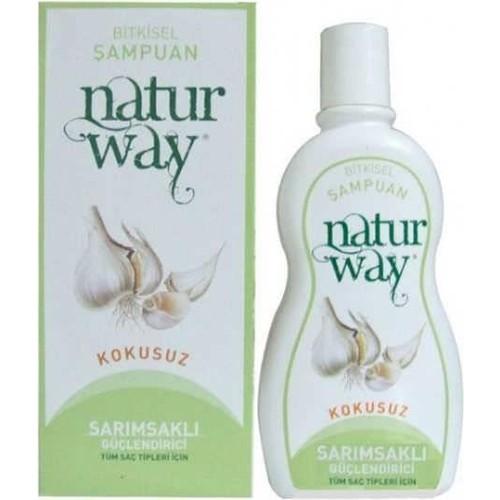 Naturway Sarımsaklı Güçlendirici Bitkisel Şampuan 500Ml