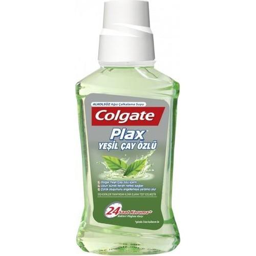 Colgate Plax Ağız Bakım Suyu Yeşil Çay Özlü 250 Ml - Alkolsüz