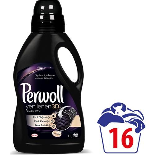 Perwoll Yenilenen Siyahlar Hassas Çamaşır Deterjanı 1 lt 16 Yıkama