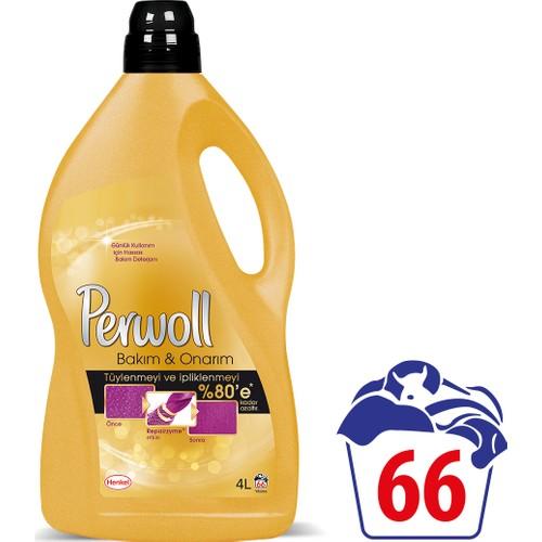 Perwoll Bakım ve Onarım Hassas Çamaşır Deterjanı 4 Lt 66 Yıkama