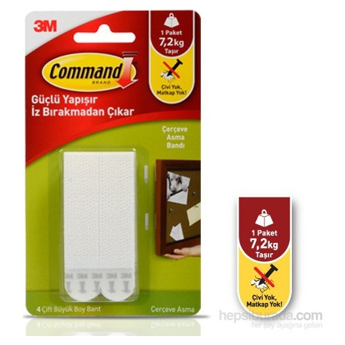 Command 17206 Büyük Boy Cırt Cırt Bant