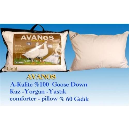 Avanos Kaz Tüyü Gold Yastık