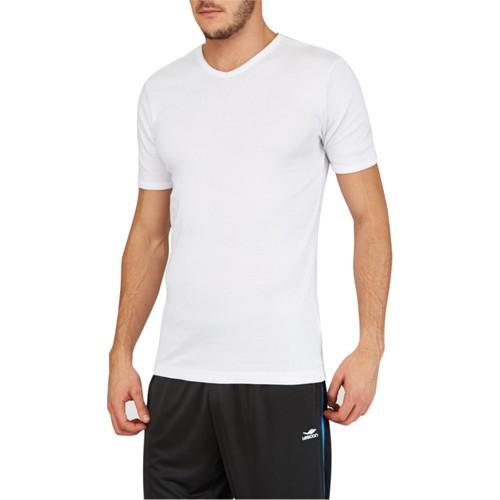 Lescon 16S-1204 Beyaz Erkek Tişört