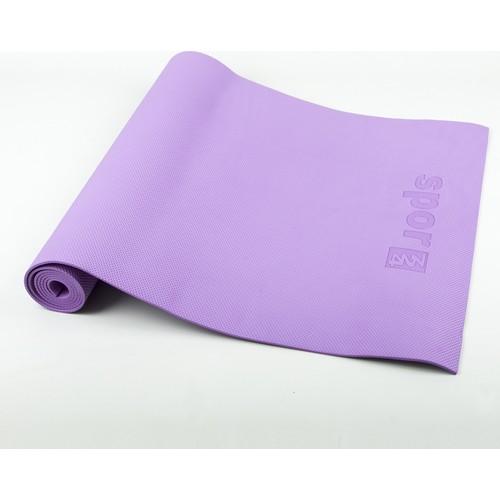 Spor724 Eva Yoga Pilates Matı Minderi 4Mm. Mor YME04-5