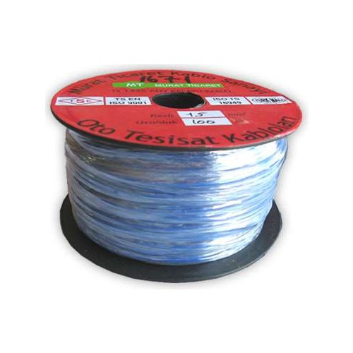 Starklips Kablo Kalaylı 1Mmx100mt Mr Sarı