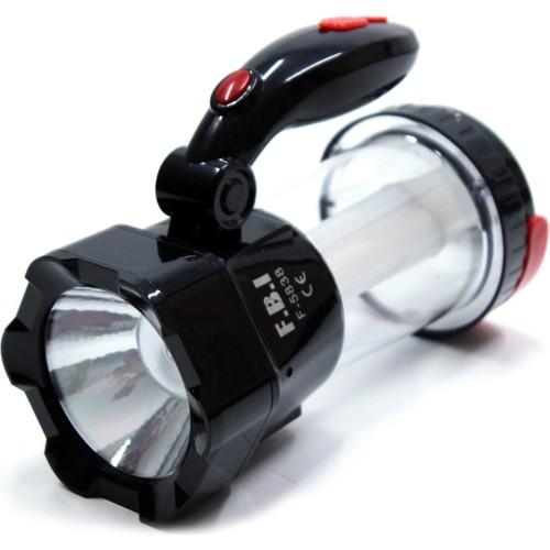 F.B.I 1 Watt CREE Ledli 24 Ledli Güneş Enerji Pilli USB Çıkışlı Işıldak 091310