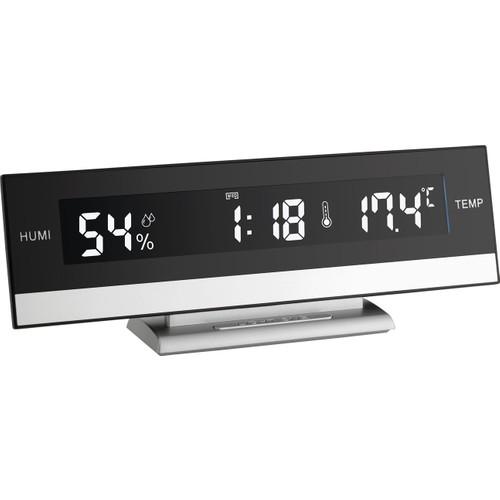 Dijital Alarmlı Saat Ve Sıcaklık-Nem Ölçer