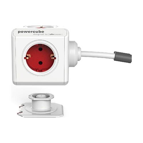 PowerCube Extended 5 Li Küp Grup Priz 1.5 M Akım Korumalı Uzatma Kablolu