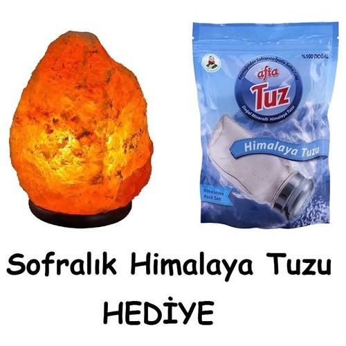 2-3 Kg Doğal Himalaya Tuz Lambası (Afia)