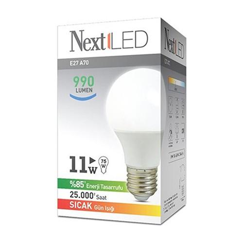 NextLED (Next&NextStar) E27 11W Gün Işığı Led Ampul