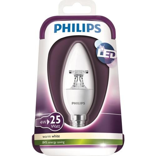 Philips Led 25W Ampul E14 Ww 230V B35 Cl Nd/4
