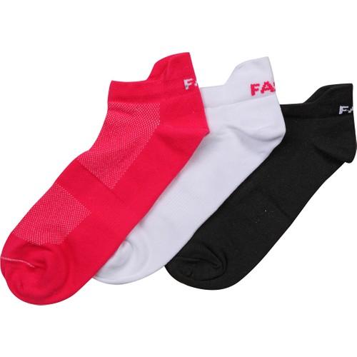Kinetix Kelly Beyaz Mavi Gelıncık Kadın Patik Çorap