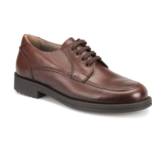 Garamond As-1 Kahverengi Erkek Deri Ayakkabı