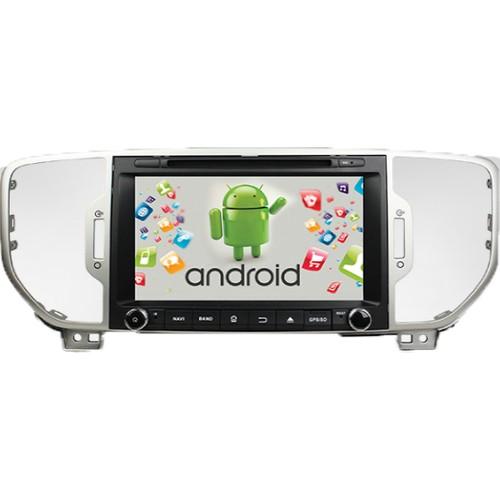 Kia Sportage 2016 10,İnç Multimedya Navigasyon Kamera Bluetooth Televizyon Android