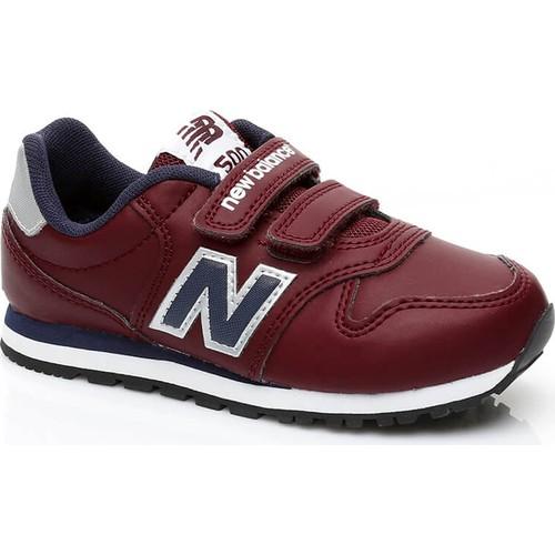 New Balance 500 Çocuk Kırmızı Sneaker Kv500Dby.612