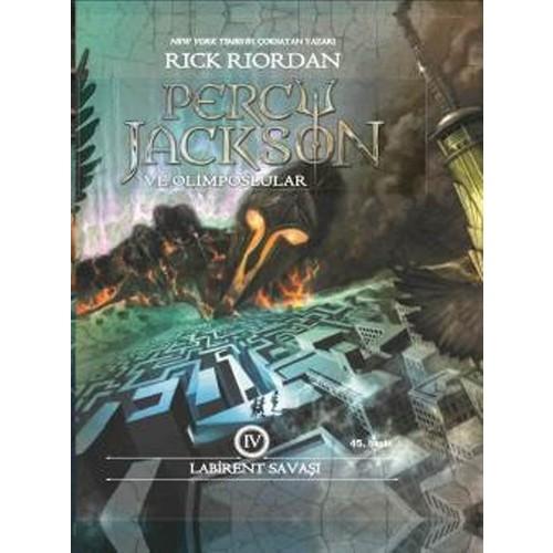 Labirent Savaşı Hc:Percy Jackson 4 - Rick Riordan