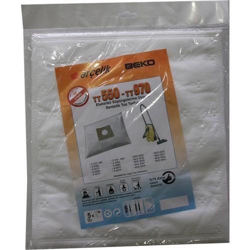 Arçelik S 6380 Elektrikli Süpürge Uyumlu Sentetik Toz Torbası