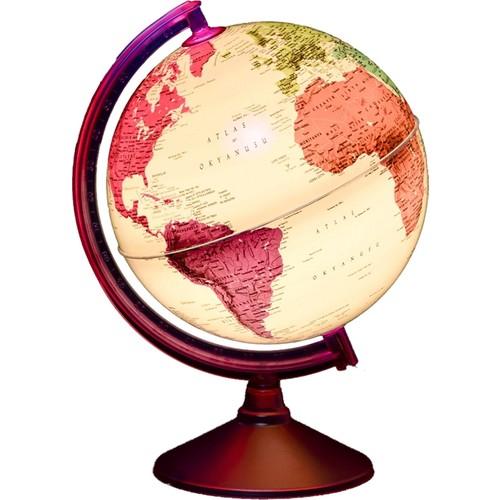 Gürbüz Işıklı Dünya Küresi 26cm (7 Renk)