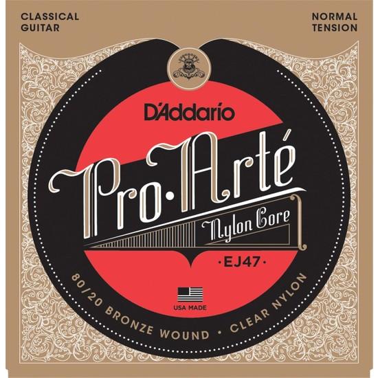 D'Addario EJ47 Pro-Arte Normal Tension Klasik Gitar Teli