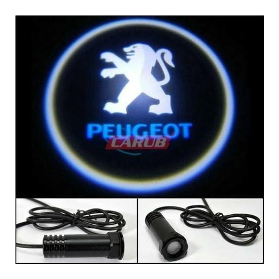 Demircioğlu Kapı Altı Işık Logo Peugeot 2Li